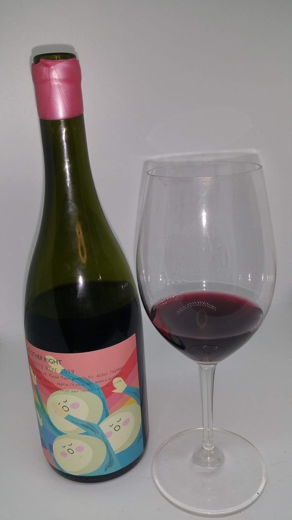 Pinot Noir 2019 Other Right Hand bottle